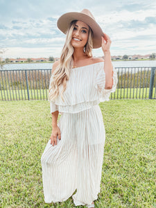 Jumping into fall two piece set