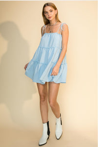 Here For Love Baby Doll Dress
