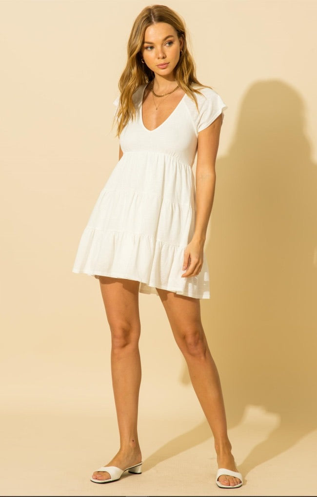 Sweet As Can Be White Dress