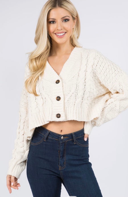 Hannah Cropped Sweater