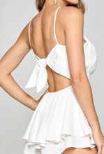 Load image into Gallery viewer, Summer Loving White Babydoll Romper