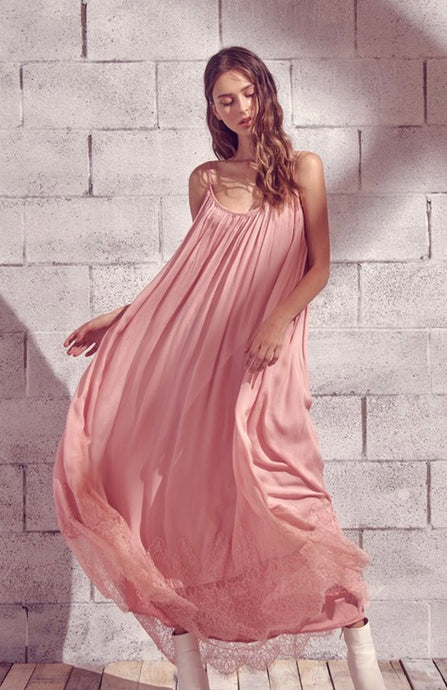 The Perfect Pink Maxi Dress