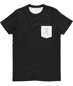 Unisex Subli Pocket Tee Fit LuXe