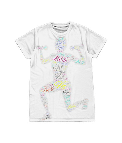 Unisex All-Over Sublimation Tee Fit LuXe
