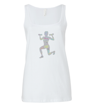 Load image into Gallery viewer, Bella Relaxed Jersey Tank Top Fit LuXe