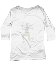 Load image into Gallery viewer, EP07 Women's 3/4 Sleeve Stretch T-Shirt Fit LuXe