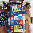 Aliens Quilt Cover Set