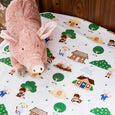 Three Little Pigs Cot Sheet