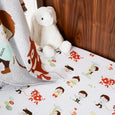 Jack & the Beanstalk Cot Sheet