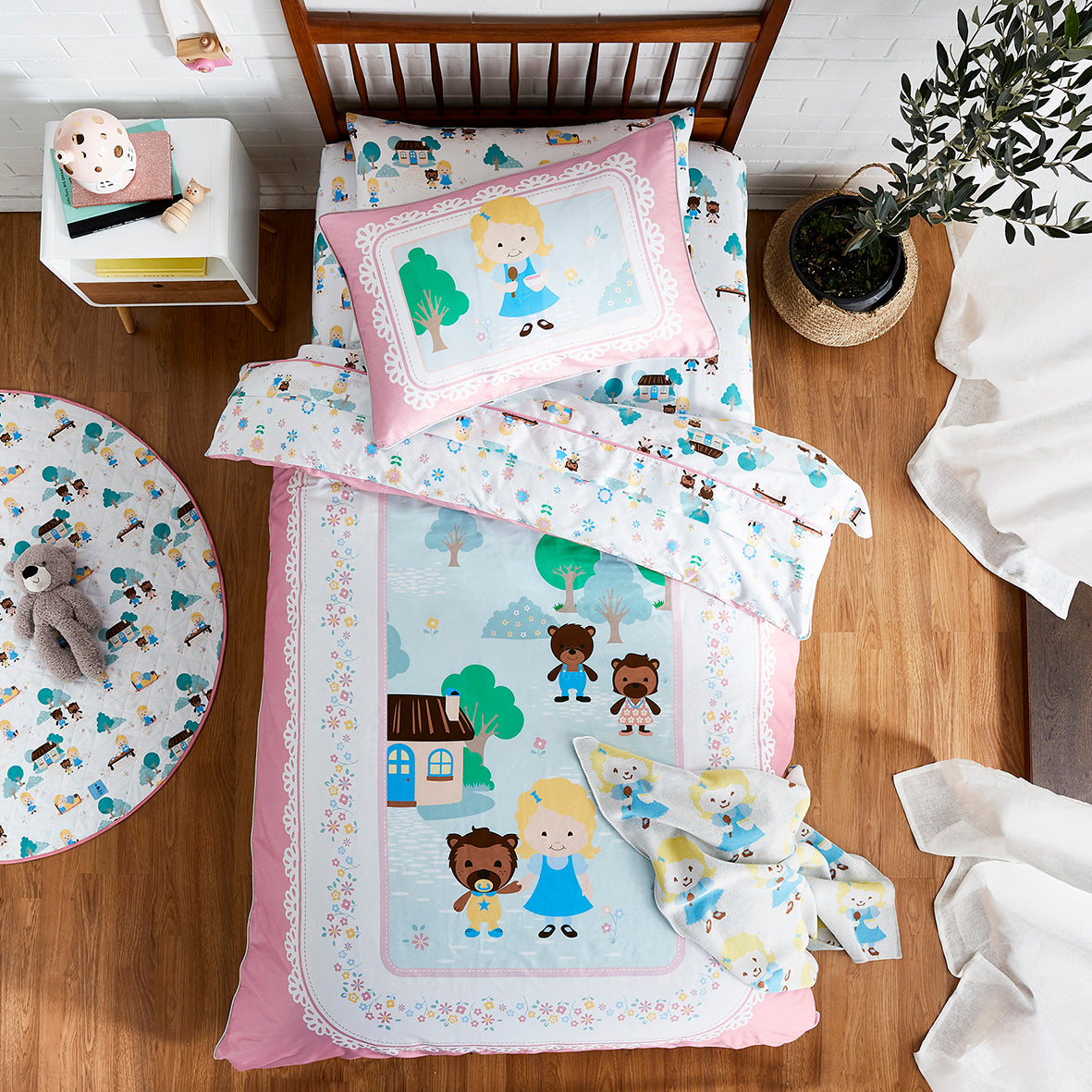 Goldilocks Quilt Cover Set