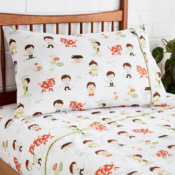 Jack & the Beanstalk Fitted Sheet