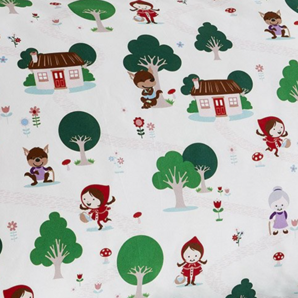 Little Red Riding Hood Pillowcase
