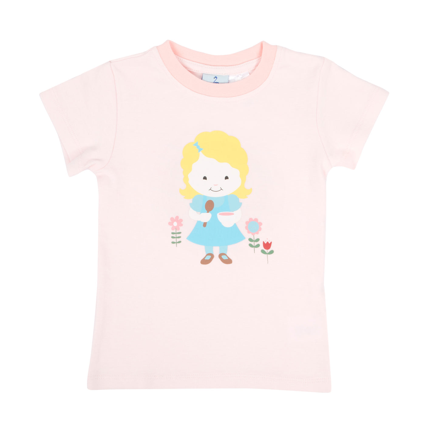 Story Book Goldilocks Short Sleeve Pyjama Top
