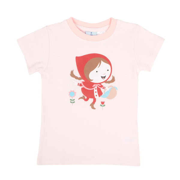 Story Book Little Red Short Sleeve Pyjama Top