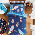 Space Animals Quilt Cover Set