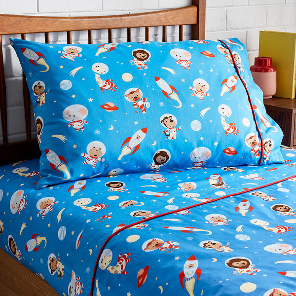 Space Animals Pillowcase