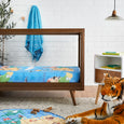 Smart Sheets - Animal World Map Cot Sheet