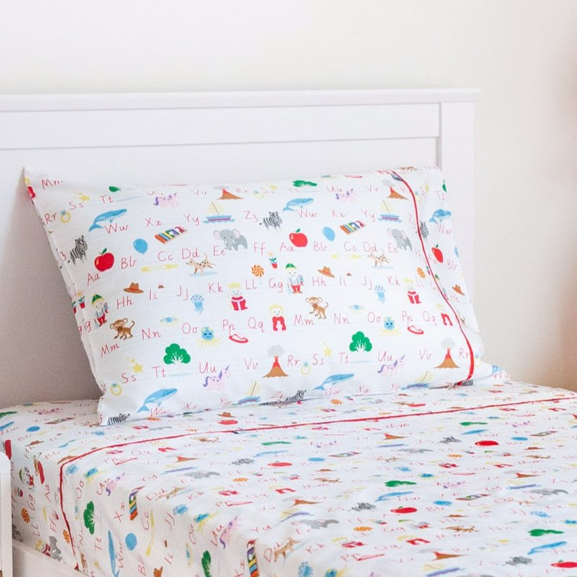 Smart Sheets - Alphabet Fitted Sheet