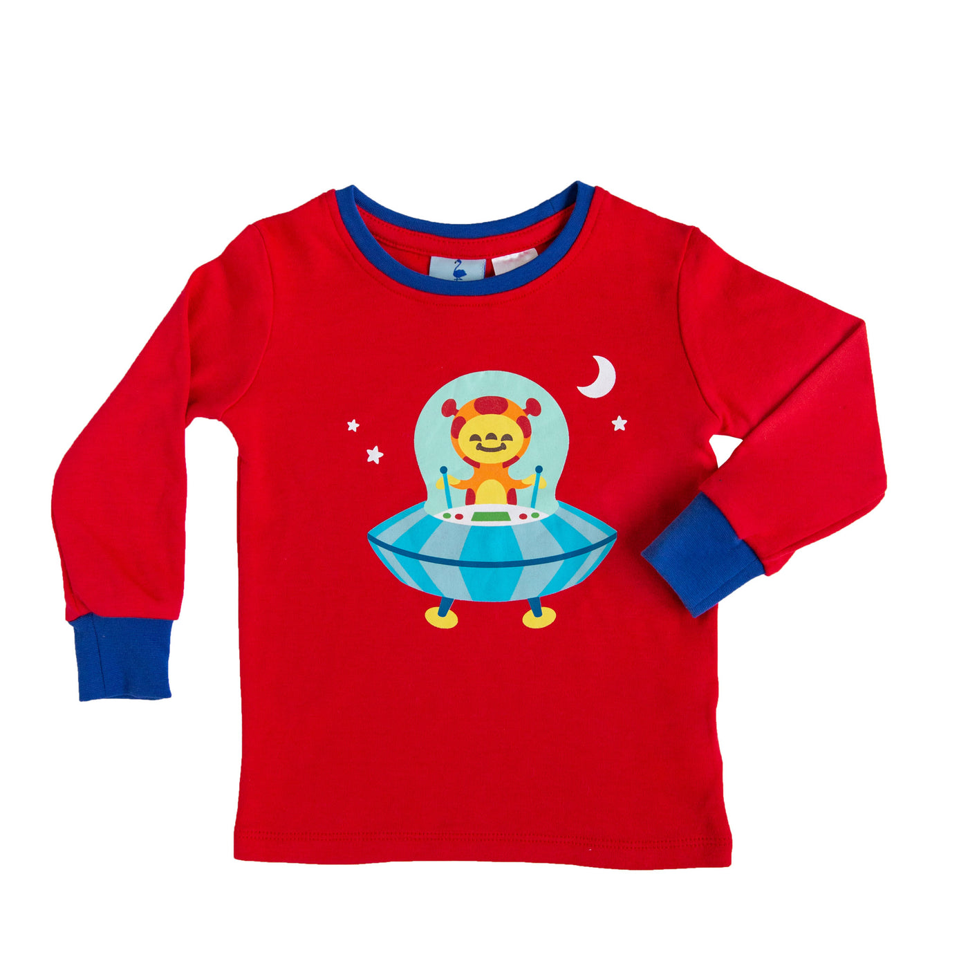 Space Alien Long Sleeve Pyjama Top