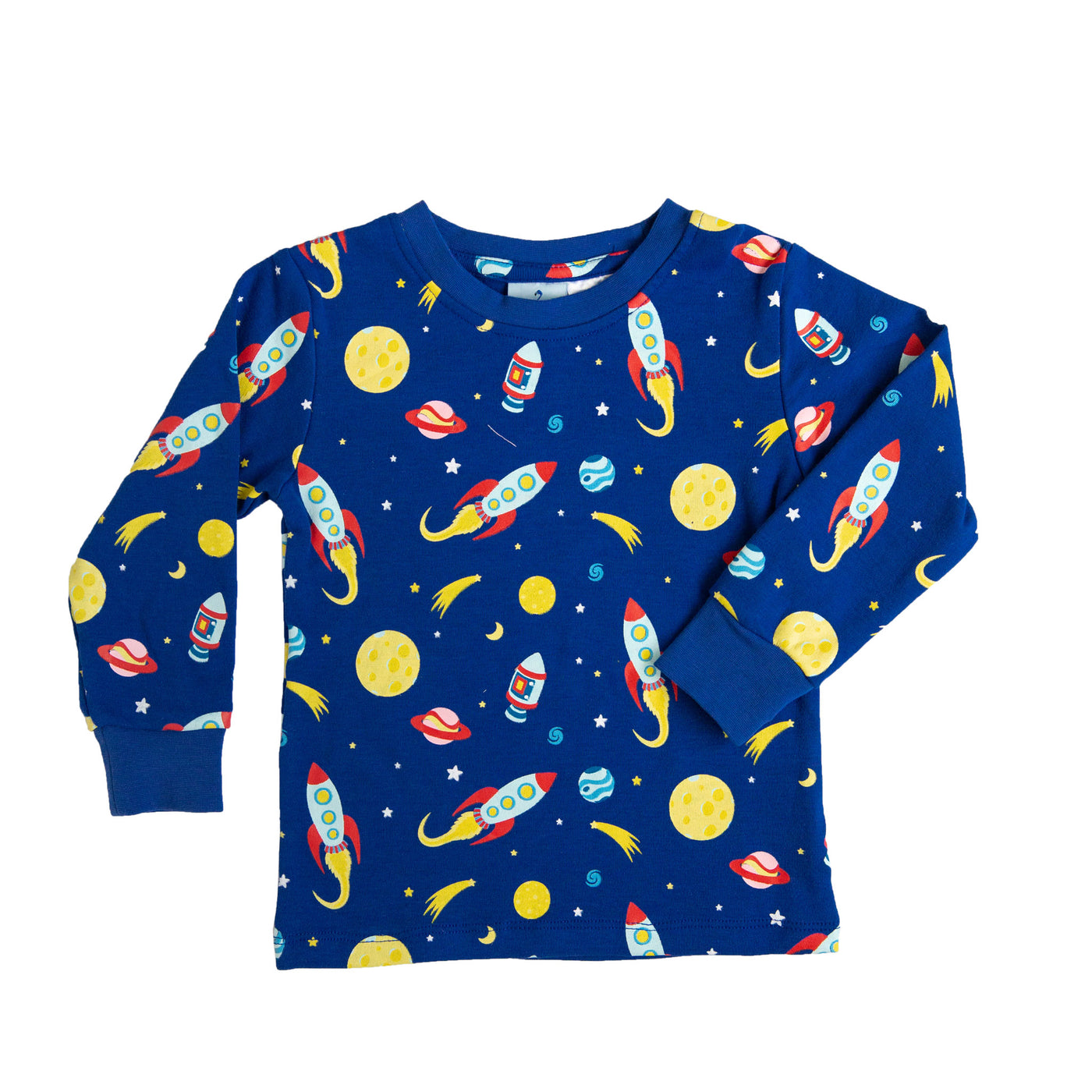 Space Long Sleeve Pyjama Top