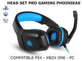 Auricular Gamer Gaming Phoinikas H1 Pc Cel Tablet Ps4