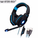 Auricular Gamer Kotion Ps4 G4000 Gaming Pc Cel + Envio