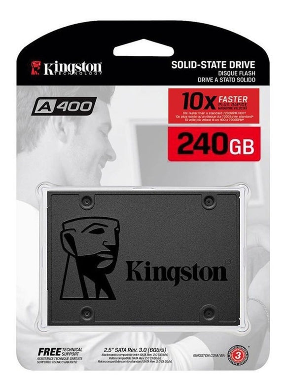 Disco Solido Kingston Interno A400 240gb Ssd 2018 Sata 3
