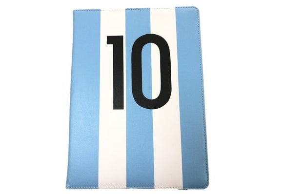 Funda Tablet 10 Flip Cover Messi Futbol Cuero Sintetico