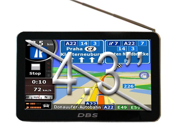 Gps Dbs 4930 Tv Digital Bluetooth Mp3 Mp4 Igo + 4gb Dbstore