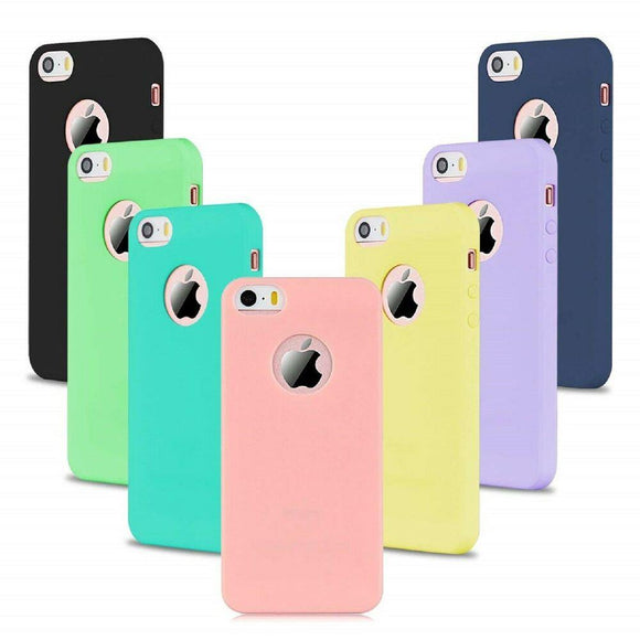 Funda Silicona iPhone Xr Xs, Xs Max + Vidrio Glass
