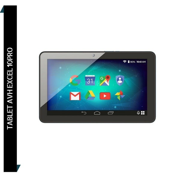 Tablet Avh Excer 10 Pro Hdmi Bt 16gb Quadcore 1.3ghz