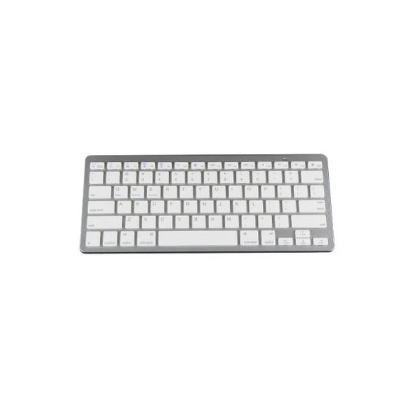 Teclado Bluetooth P/ Ipad Iphone Pc Blanco Bk3001ba