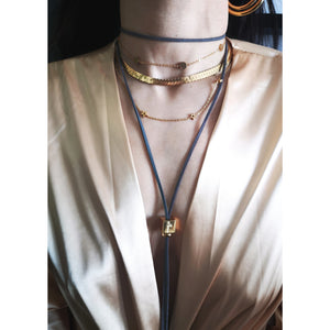 Deanna cube necklace