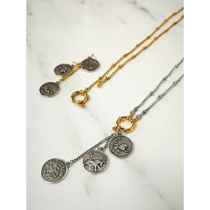 Custom zodiac necklace - ATELIER SYP