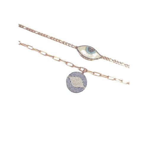 Athena Eye Necklaces - ATELIER SYP