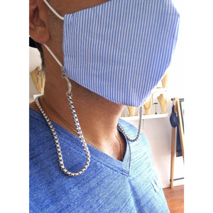 Box Chain MASXESSOIRES (3-IN-1 MASK CHAIN, READERS AND NECKLACE) - ATELIER SYP
