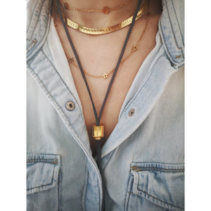 Deanna cube necklace - ATELIER SYP