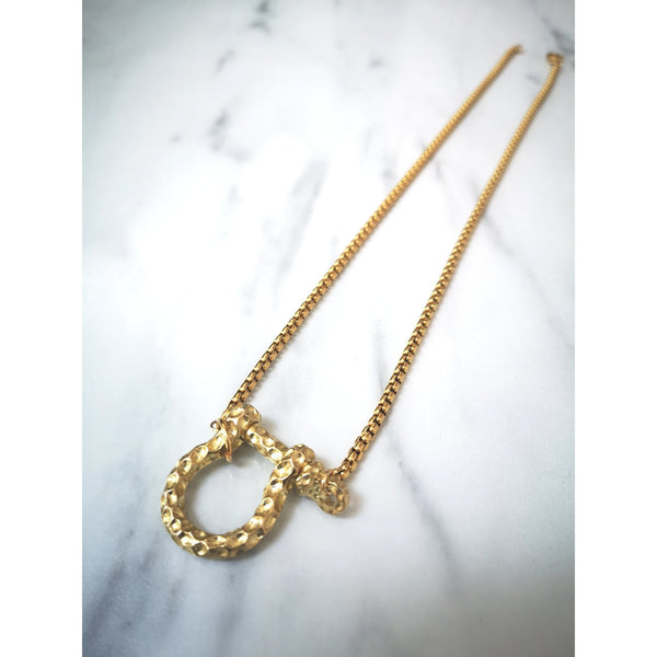 Genia shackle clasp necklace - ATELIER SYP