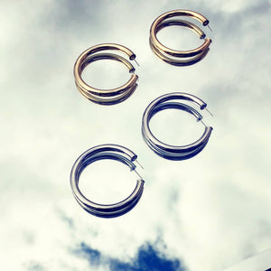 Light as a feather hoops - ATELIER SYP