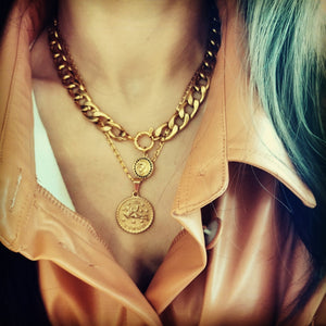 Marisa chunky chain necklace - ATELIER SYP