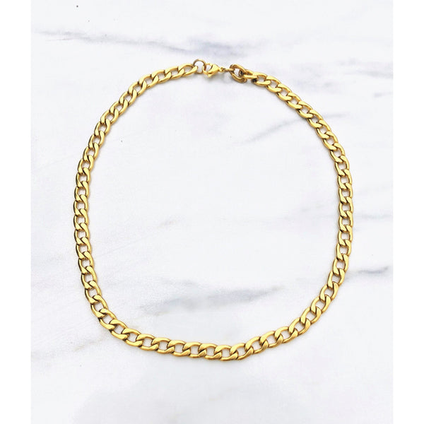 Melia Curb Chain Necklace - ATELIER SYP
