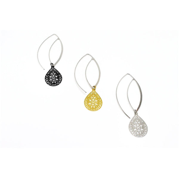 Philia Small Filigree Earrings - ATELIER SYP