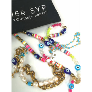 rhodes charm earrings - ATELIER SYP