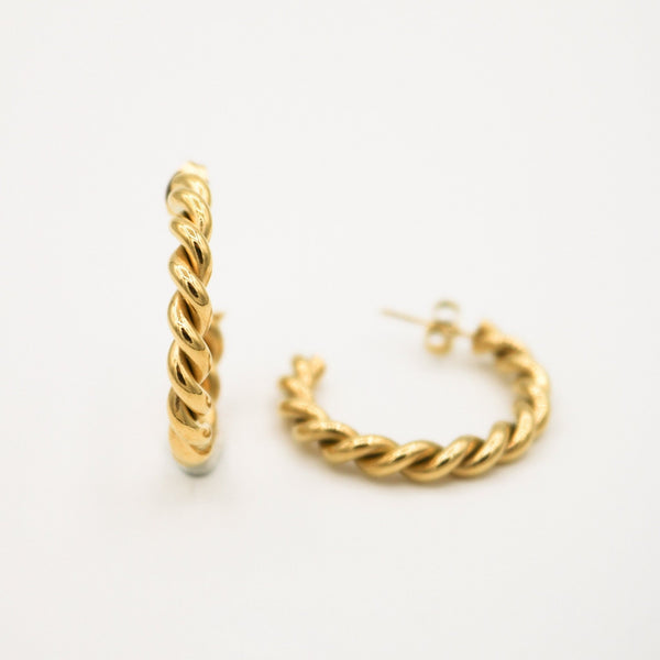 Snake Twist Earrings - ATELIER SYP