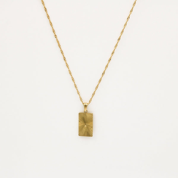 Vintage Rectangle Necklace - ATELIER SYP