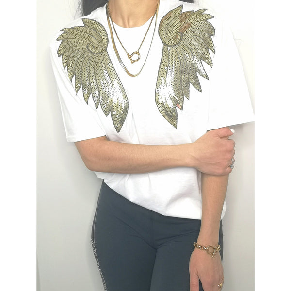 Wings of Steal tee - ATELIER SYP