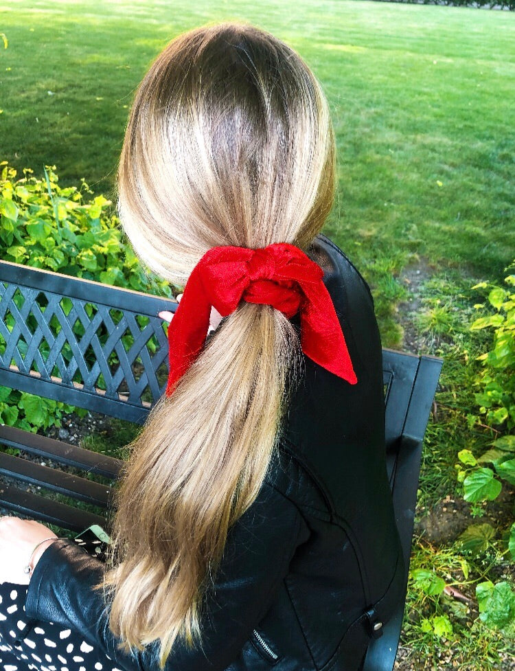 Lottie Bow knot Scrunchie