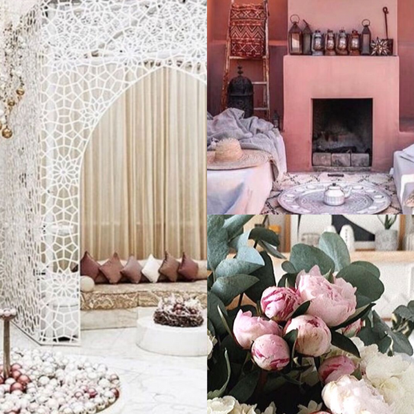 Home Decor Collage Living Room Fireplace Roses