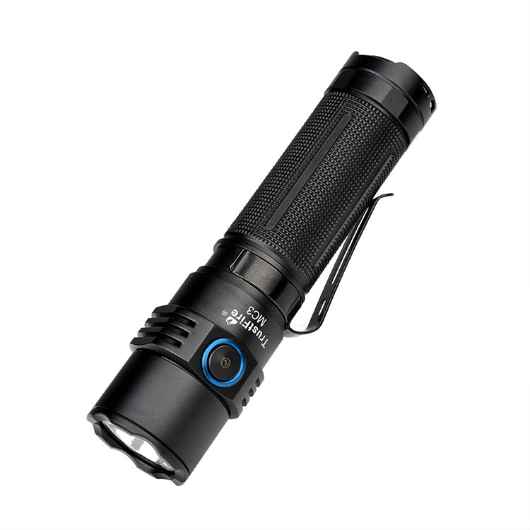 Trustfire MC3 EDC Magnetic Rechargeable Led Flashlight 2500Lumens Torch Light