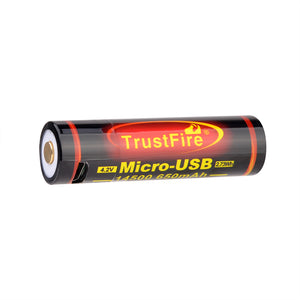 14500 650mAh USB Battery